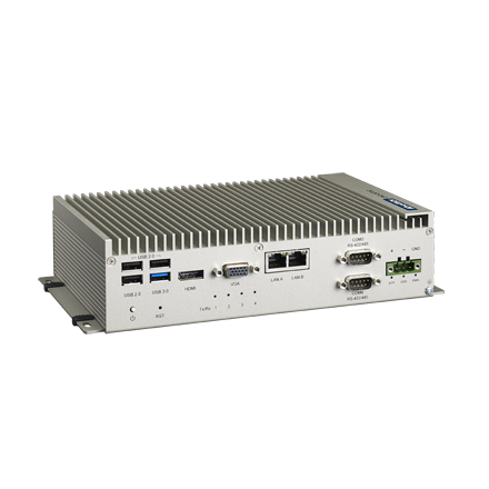 Fanless BOX-PC Advantech UNO-2473G-J3AE, J1900 2,0 GHz, 4GB RAM, w/4xCOM, 2xLAN, 3XmPCIe, VGA