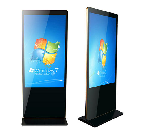 "Stele iPhone-Style, 550-LBTM-IR, Indoor,55"" IR-Touch-Display,1920x1080,500nits,0°C-55°C,ohne PC/Pl."
