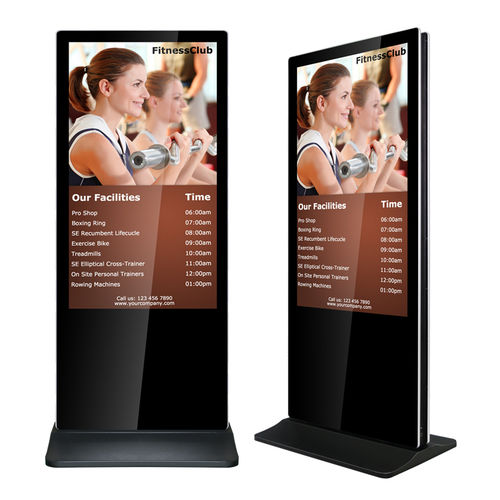 "Stele iPhone-Style,RCS550LBAZ-D,Indoor,55"",Double-sided,1920x1080,500nits,0°C-55°C,PC/Player,Win10P"