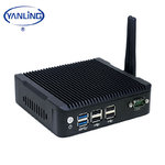 Mini-PC Ebox N5,N3160 Qadcore 4x2,3GHz,fanless,3840x2160,4GB,128GB SSD,W-LAN,BT,USB,Win10,IP54,6Watt